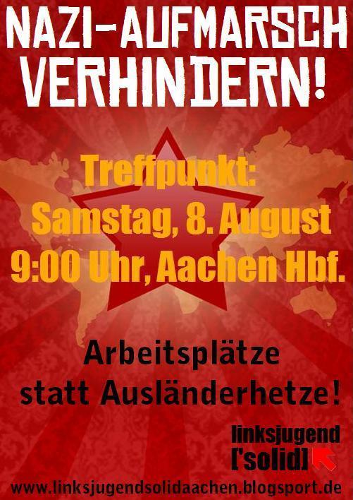 Naziaufmarsch in Stolberg verhindern!