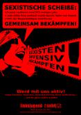 Sexistische Scheiße gemeinsam bekämpfen!